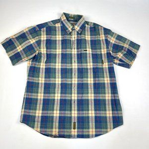 Timberland Plaid Button Down Large